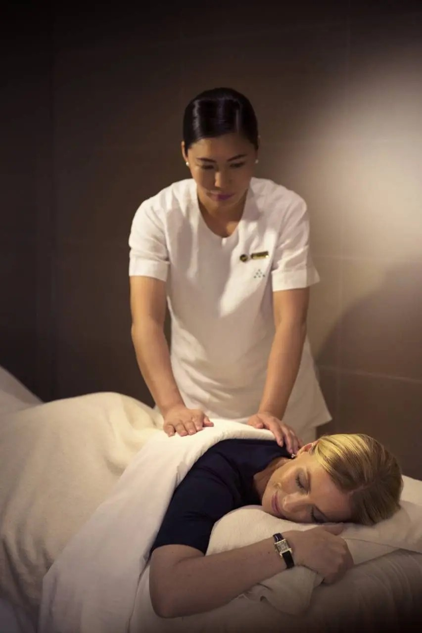 Massage at Six Senses Spa