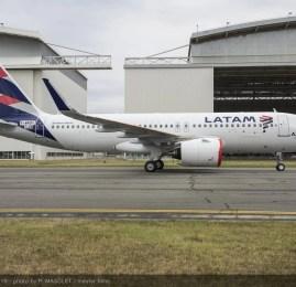LATAM Airlines apresenta seu primeiro A320neo