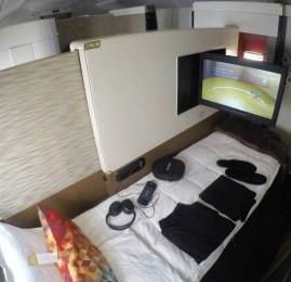 "Primeira Classe da Etihad ""First Class Apartment"" no A380 – Abu Dhabi para Mumbai"