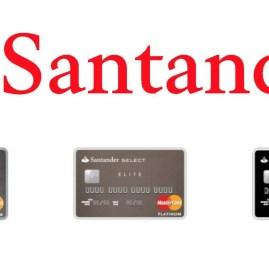 Santander altera modelo de cobrança de anuidade dos cartões