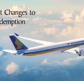 Programa KrisFlyer da Singapore Airlines anuncia mudanças