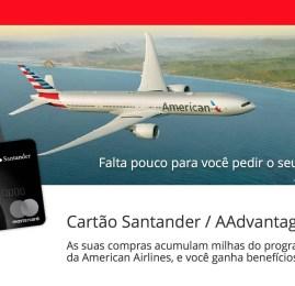 Conheça como serão os cartões de crédito da American Airlines vinculados ao Santander