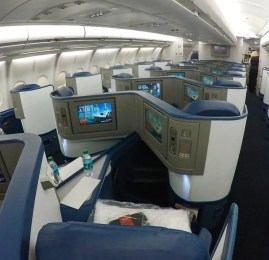 Classe Executiva da Delta no A330-300 – Atlanta p/ São Paulo