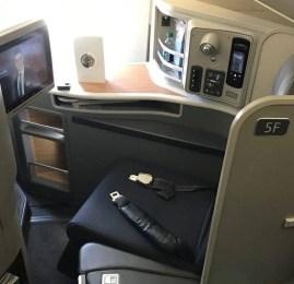 Primeira Classe da American Airlines no A321T – Nova York p/ Los Angeles