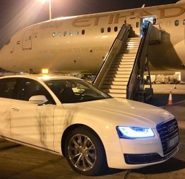 Etihad vai deixar de oferecer motorista gratuito para passageiros na Primeira Classe e Executiva