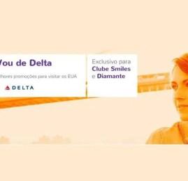Voe Delta para os EUA a partir de 18.450 pontos LIVELO!!!