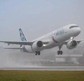 A321LR Faz seu primeiro voo com êxito