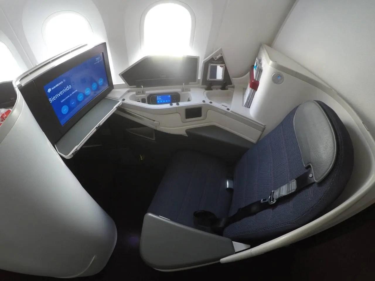 Nova Classe Executiva da Aeromexico no B787-9 - São Paulo p