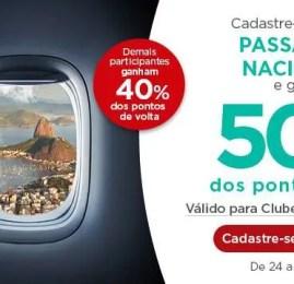 Promoção Misteriosa da Multiplus oferece até 50% de pontos de volta em resgates de passagens nacionais
