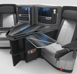 KLM terá novos assentos na classe executiva