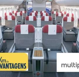 Multiplus lança pacote especial do KM de Vantagenspara membros do Clube Multiplus