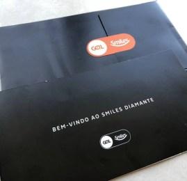 Kit de boas-vindas do Smiles Diamante