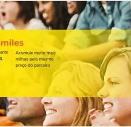 Ganhe até 6 milhas por real gasto no Shopping Smiles