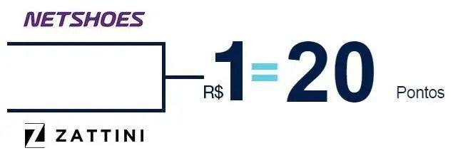 5a72baff9 Só Hoje! TudoAzul oferece 20 pontos por real gasto na Netshoes e ...