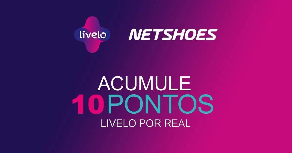 Livelo oferece 10 pontos por real gasto na Netshoes - Passageiro de ... 48b2184c9d366