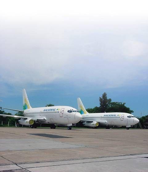 TBT - Boeing 737-200 All Pax no Brasil - Passageiro de Primeira