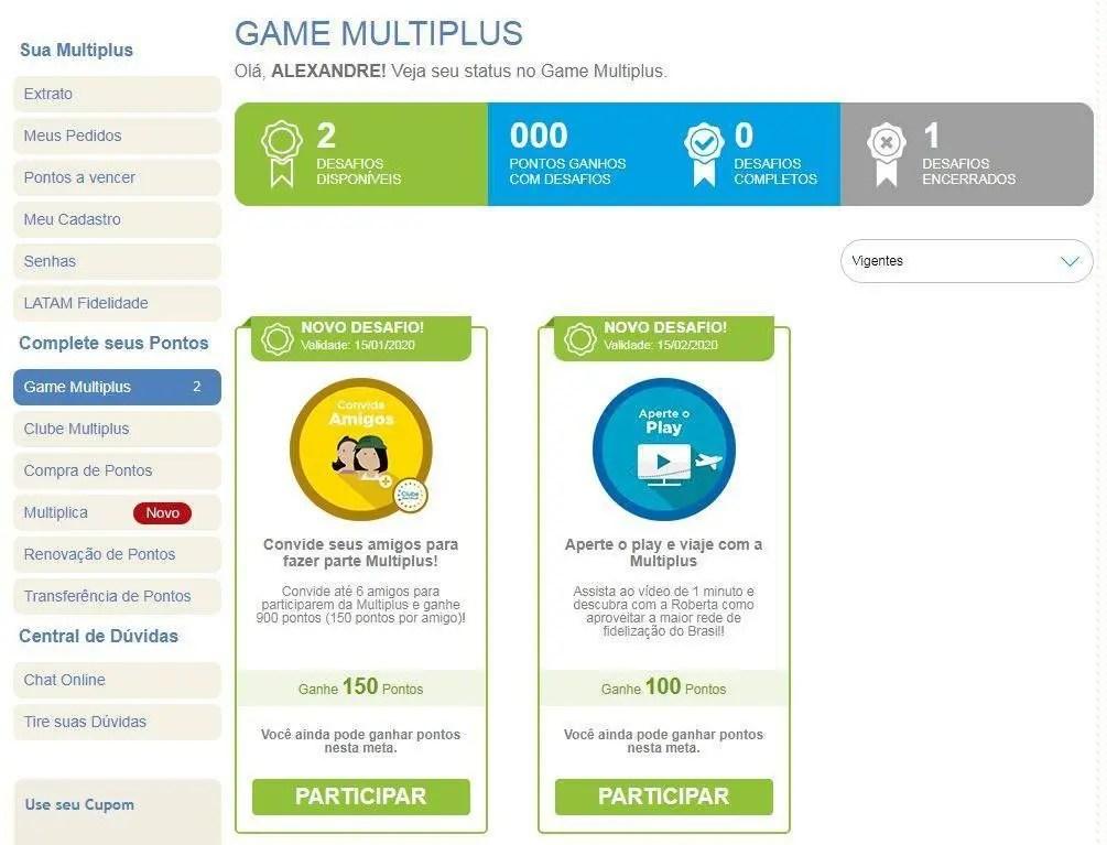desafios game multiplus