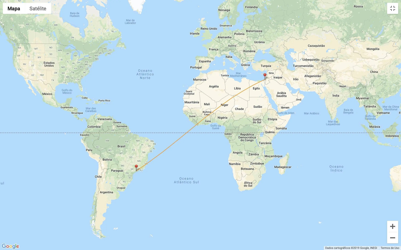 voos mais longos saindo do Brasil