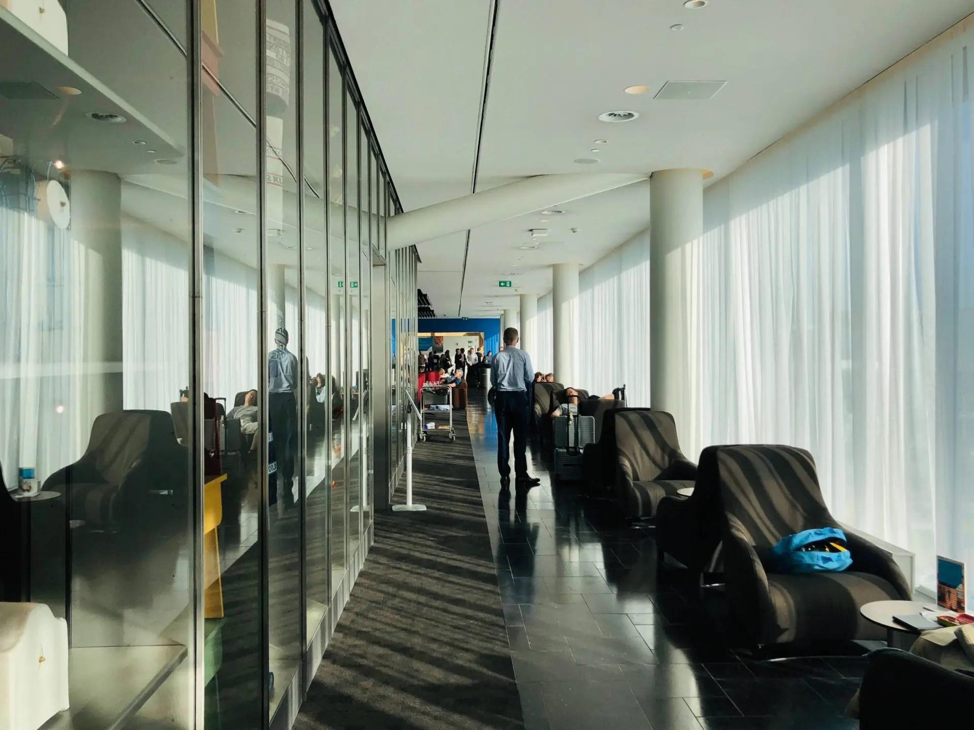 KLM Crown Lounge Smoking Room