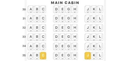 mapa de assentos 3-4-3