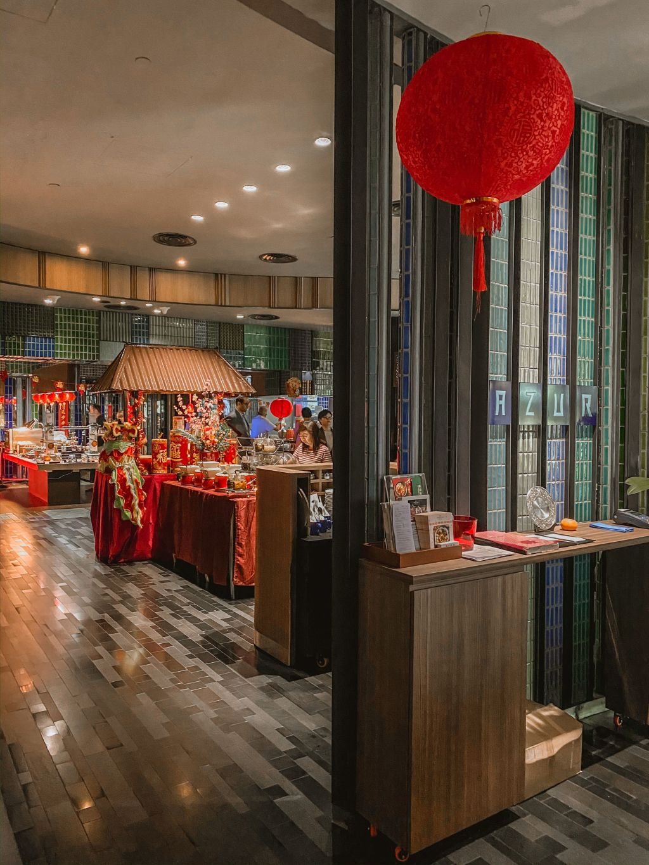 Restaurant Azur Crowne Plaza Changi Airport