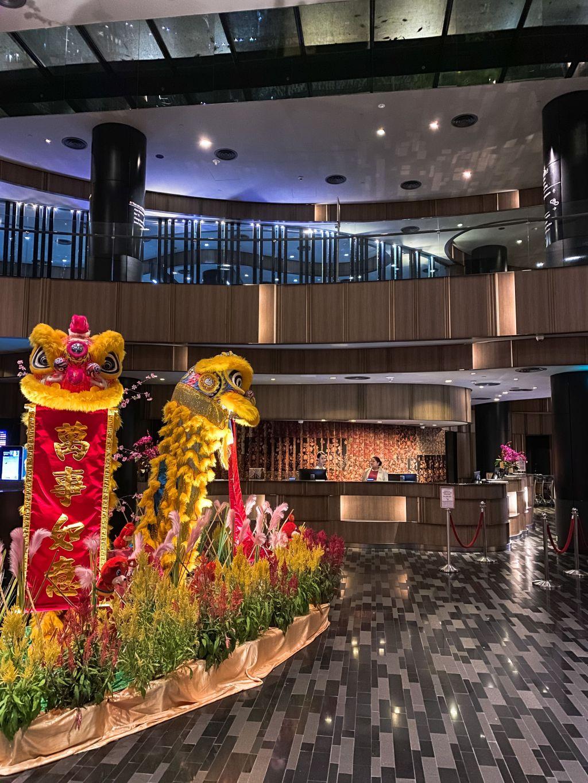 Recepção Crowne Plaza Changi Airport