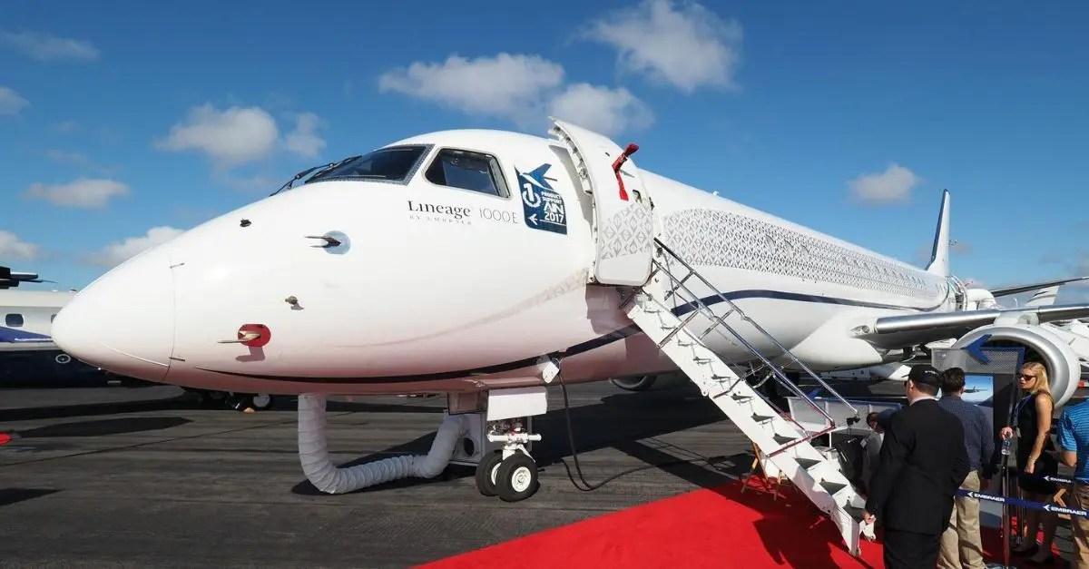 Lineage 1000E Embraer