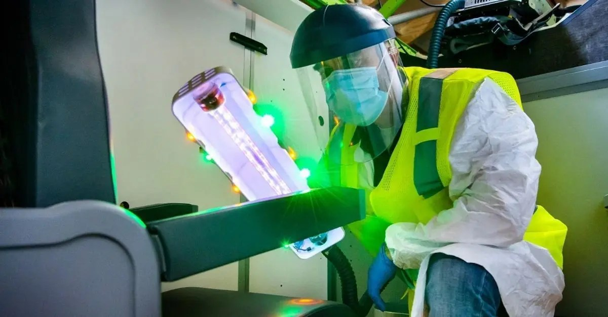 Boeing bastão ultravioleta