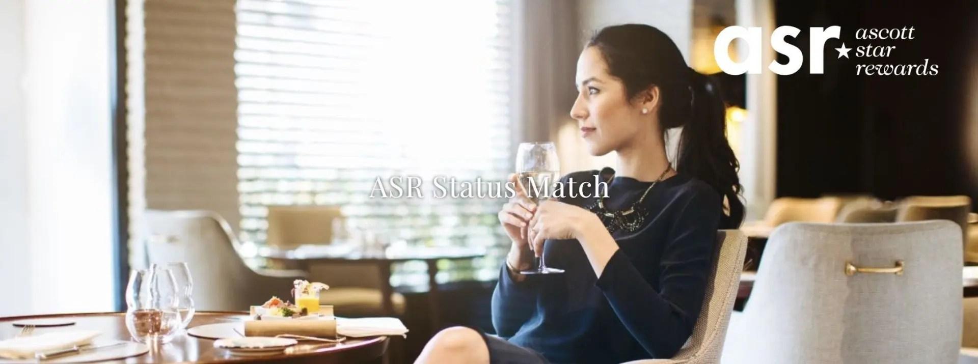 Ascott Status Match