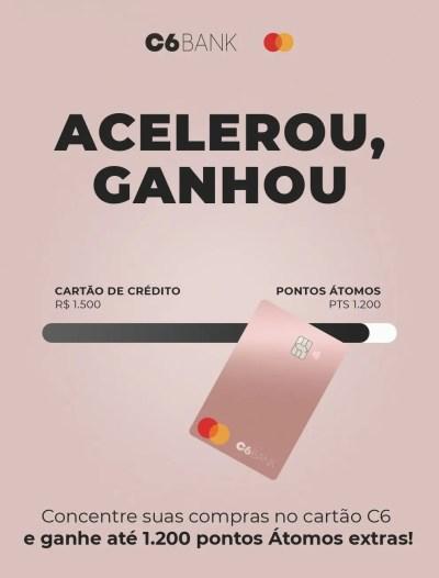 Acelerou Ganhou C6 Bank