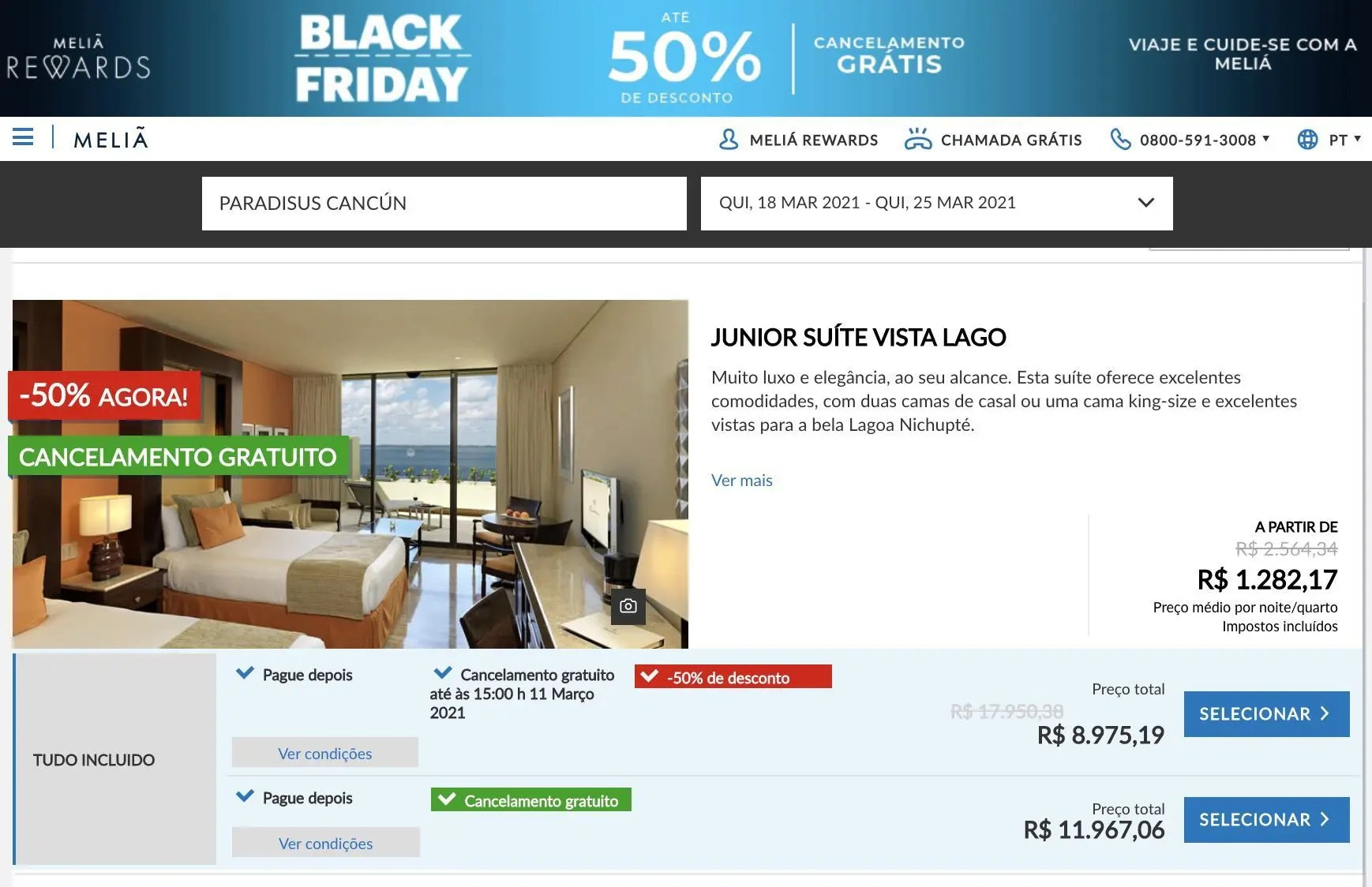 meliá black friday