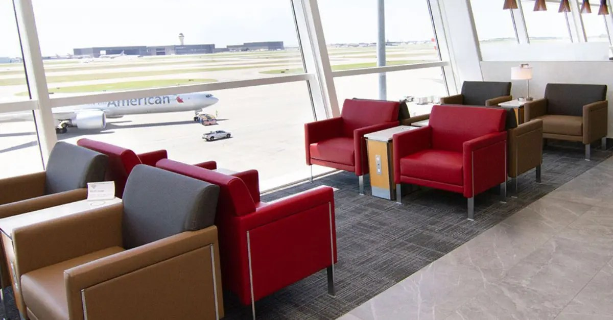 American Airlines acesso lounges