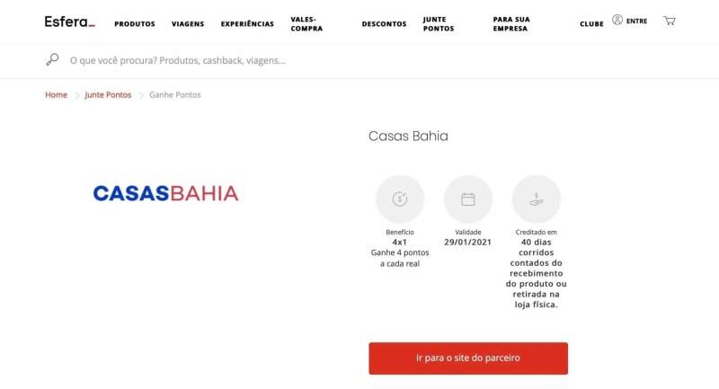 Esfera Casas Bahia 4