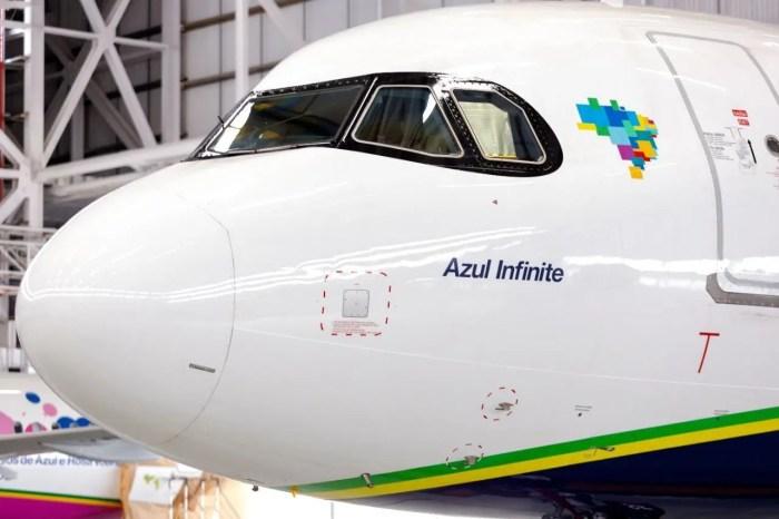 pontos aeronave Azul Infinite