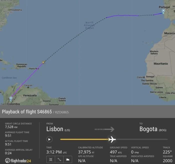 Recorde voo Airbus A321LR