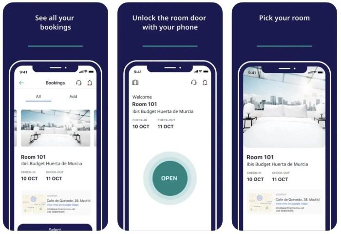 chave digital Accor Key