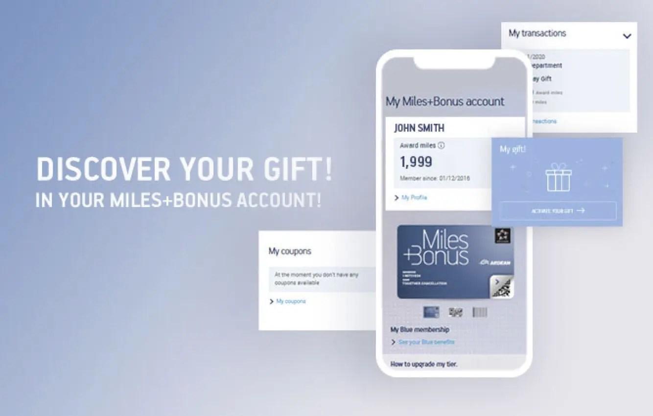 Presente Miles+Bonus Aegean