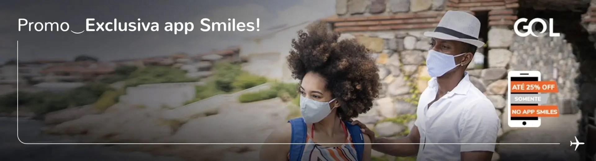 Smiles 25% desconto aplicativo