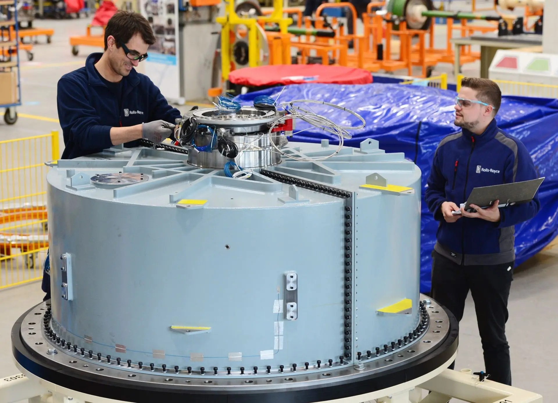 Rolls-Royce maior motor mundo
