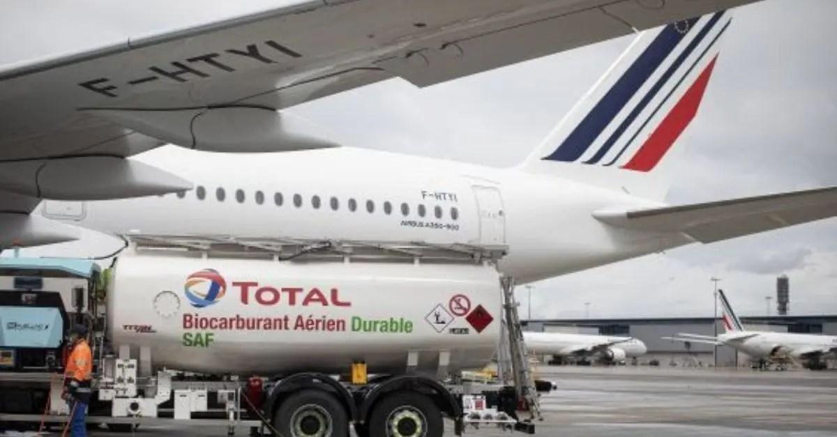 Air France Biocombustível