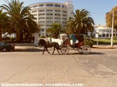 Hotel del Mar e os típicos passeios de charrete por Viña