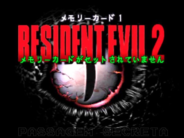 Resident Evil 1.5 - Abertura