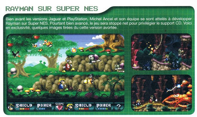 Rayman Super NES