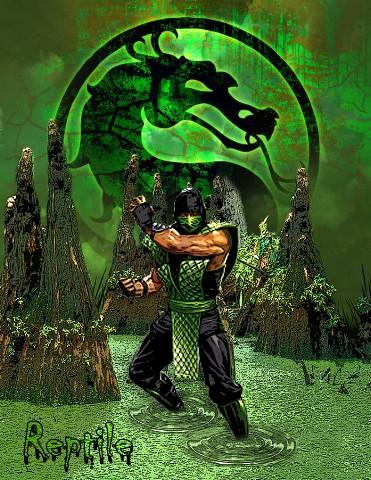 Reptile - Mortal Kombat