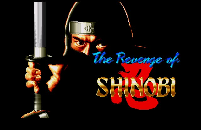 The Revenge of Shinobi - abertura - ninja