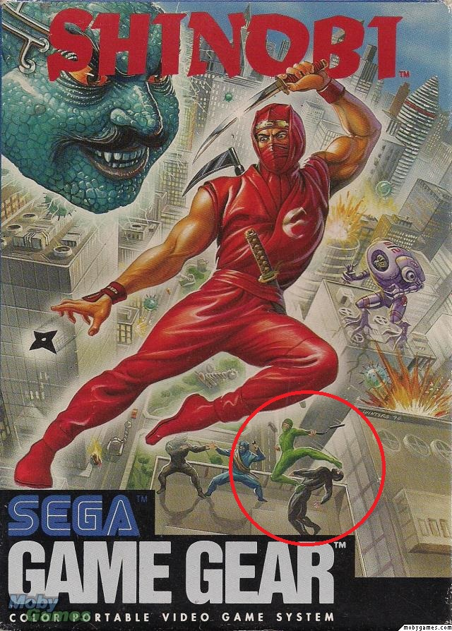 Shinobi (Game Gear)