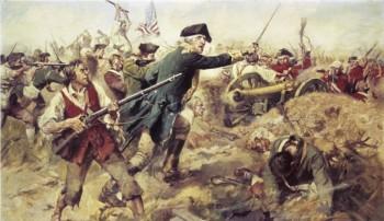 Battle of Bennington by F.C. Yohn.