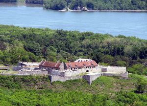 Fort Ticonderoga from Mount Defiance. From Wikipedia Commons courtesy of user Mwanner.
