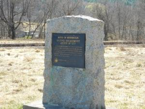 Second Battle of Bennington Marker. Photo by Andrew Alberti.