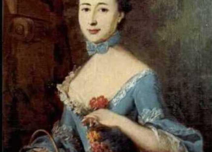 Portrait of Frederika Charlotte Louise von Massow, Barroness von Riedesel. By Johann Heinrich Wilhelm Tischbein.
